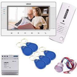 """Leelen LEELEN Wideodomofon 7"""" JB305_V34/No9/DIN/Czytnik/5 breloków JB305_V34/No9/DIN/CPZ2L - Rabaty za ilości. Szybka wysyłka. Profesjonalna pomoc techniczna."""
