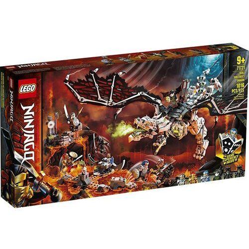 Klocki dla dzieci, 71721 SMOK SZKIELETOWEGO CZAROWNIKA (Skull Sorcerer's Dragon) KLOCKI LEGO NINJAGO