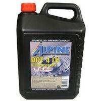 Płyny hamulcowe, Alpine Brake Fluids płyn hamulcowy DOT4 LV 5 Litr Pojemnik