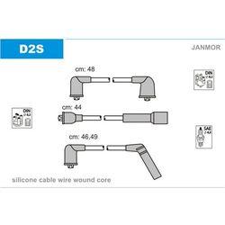 Zestaw przewodów zapłonowych JANMOR D2S