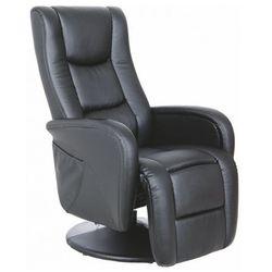 Fotel rozkładany Litos - czarny