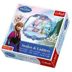 Frozen Gra Węże i Drabiny Trefl