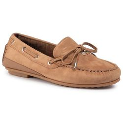 Mokasyny TOMMY HILFIGER - Elevated Th Hardware Moccasin FW0FW04588 Tobacco Brown GE4