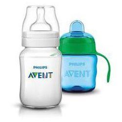 Butelka dla niemowląt Philips AVENT Classic+ 260 ml + Hrneček Classic 200 ml Niebieska