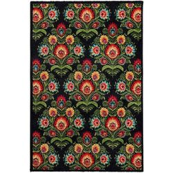 Dekoria Dywan Modern Folk antracite 160x230cm, 160 × 230 cm