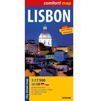 Mapy i atlasy turystyczne, Lisbon Laminowany Plan Miasta 1:17 500 (opr. miękka)