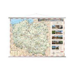 Polska niezwykła mapa ścienna dla dzieci. Darmowy odbiór w niemal 100 księgarniach!