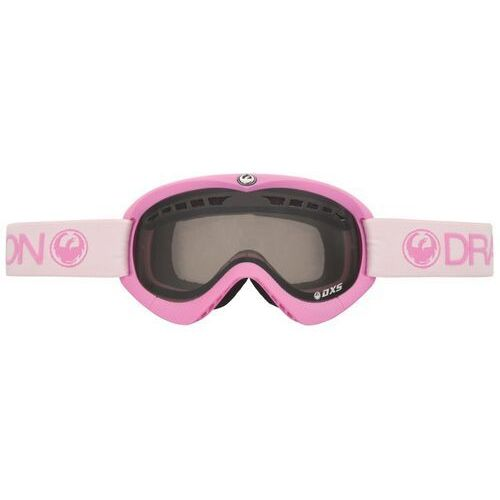 Kaski i gogle, gogle snowboardowe DRAGON - Dxs Pink (Smoke + Yellow) (807)