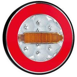 Lampa LED tylna 3 funkcje okrągła 12V-36V FT113