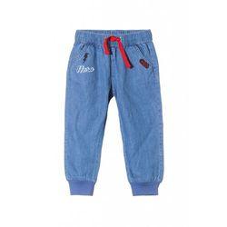 Spodnie niemowlęce jeansowe 5L3501 Oferta ważna tylko do 2019-12-08
