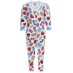 MOSCHINO BABYGROW Śpioszki alphabet heart color