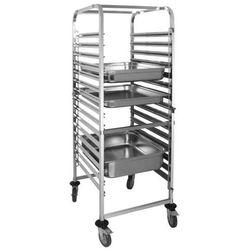 OUTLET - Wózek do transportu pojemników | 15xGN 2/1 | 680x585x(H)1715mm