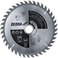 Tarcze do cięcia, Tarcza do cięcia DEDRA H35060 350 x 30 mm do drewna HM + Zamów z DOSTAWĄ JUTRO!