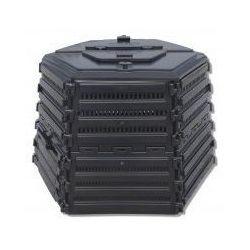 Ekokompostownik EKOBAT Termo XL-1400 Czarny + DARMOWY TRANSPORT!