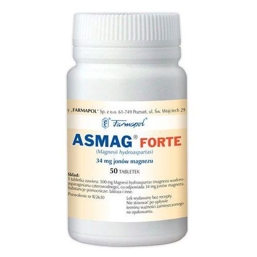 Leki na serce, Asmag Forte tabl. 500mg x 50