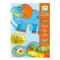Kreatywne dla dzieci, Zestaw artystyczny z flamastrami Zwierzęta