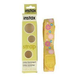 Pasek FUJIFILM Camera Strap do aparatów Instax (zółty - gwiazdki)