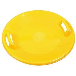 Jabłuszko do zjeżdżania ślizgacz Snow Spartan Ufo, Żółty