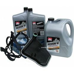 Filtr oraz olej Dextron-VI automatycznej skrzyni biegów AX4S Ford Freestar 2006-2007