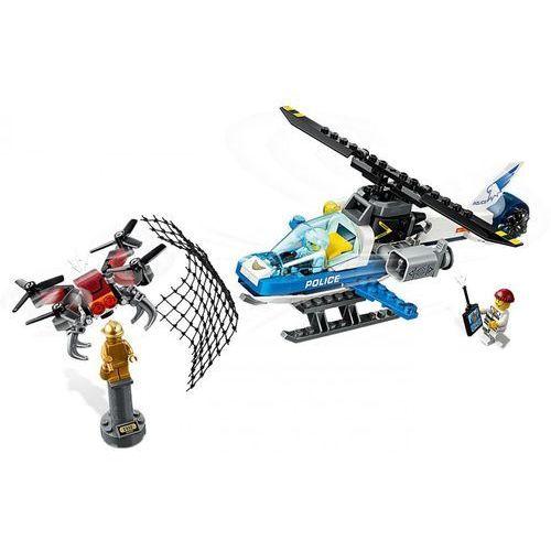 Klocki dla dzieci, 60207 POŚCIG POLICYJNYM DRONEM (Drone Chase) KLOCKI LEGO CITY