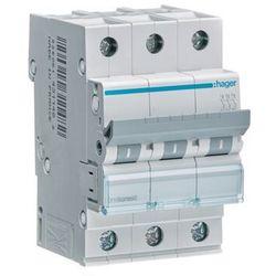 Hager MCB Wyłącznik nadprądowy 3P C 40A MCN340E