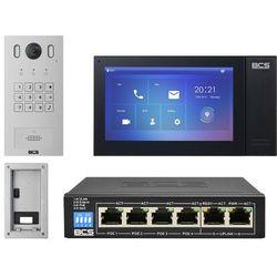 "Wideodomofon IP BCS-PAN1601S-S + Monitor 7"" BCS-MON7400B-S Podtynkowy"