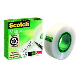 Taśma klejąca Scotch Magic 19mmx33m niewidoczna na papierze