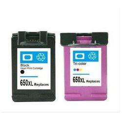 Zgodny komplet tuszy HP 650 CZ101AE/CZ102AE czarny+kolor