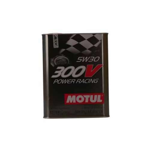 Pozostałe akcesoria do motocykli, Motul 300V Power Racing 5W-30 2 Litr Puszka