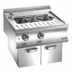 Urządzenie do gotowania makaronu i pierogów elektryczne z szafką| linia Domina 700 | 40L | 9000W | 700x730x(H)580 mm
