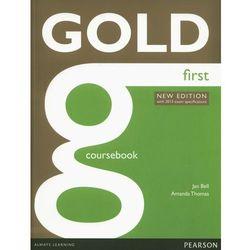 Gold First. Podręcznik + Audio Online (opr. miękka)