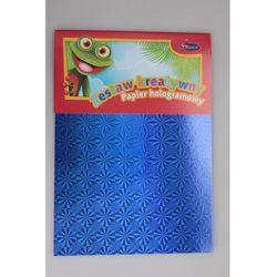 Zestaw kreatywny - papier hologramowy a4