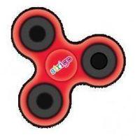 Pozostałe zabawki, Spinner fidget czerwony STRIGO