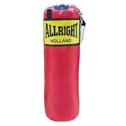 Worek bokserski Allright 70 x 30cm 10kg czerwony z łańcuchem