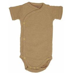Lodger body dziecięce Romper Short Sleeves Ciumbelle Honey 68 musztardowy - BEZPŁATNY ODBIÓR: WROCŁAW!