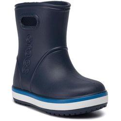 Kalosze CROCS - Crocband Rain Boot K 205827 Navy/Bright Cobalt
