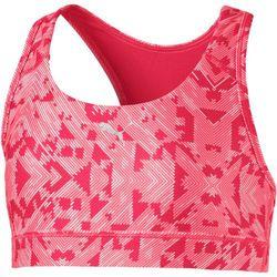 Puma biustonosz sportowy Training Bra Paradise Pink Aop 128 - BEZPŁATNY ODBIÓR: WROCŁAW!