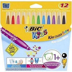 Flamastry BiC Kids Kid Colour Baby 12 kolorów 902080
