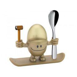 WMF - Kieliszek na jajko z łyżeczką McEgg, złoty