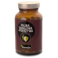 Palma Sabałowa ekstrakt 250mg + Pokrzywa ekstrakt 200mg 90 kaps. Hanoju