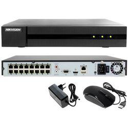 Rejestrator cyfrowy sieciowy IP do monitoringu sklepu, biura HWN-4216MH-16P Hikvision Hiwatch