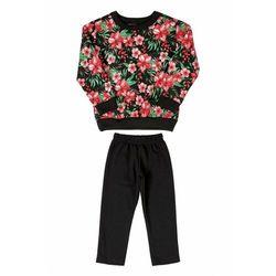 Komplet dziewczęcy bluza+spodnie 3P39A1 Oferta ważna tylko do 2023-12-01