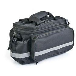 Torba/sakwa na bagażnik 070 czarno-czerwona