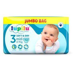 LUPILU® LUPILU® Pieluchy SOFT&DRY 3 Midi (4-9 k