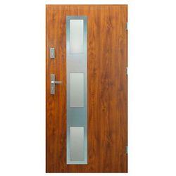 Drzwi zewnętrzne Denali 90 prawe złoty dąb