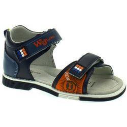 Sandały dla dzieci Wojtyłko 2520 Granatowe - Granatowy