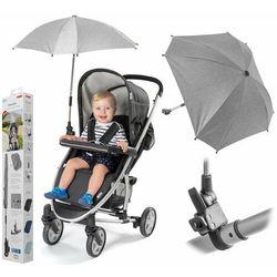Parasolka przeciwsłoneczna REER wózka UV50+ szara