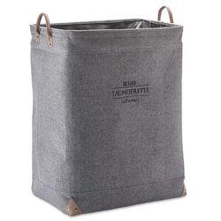 Kosz na pranie Aquanova Lubin silver grey 65 cm