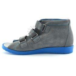 Dziecięce buty profilaktyczne Dawid 1043 - Niebieski ||Szary