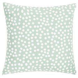 Poduszka Allover Dots 45x45 - zielony ||kremowy